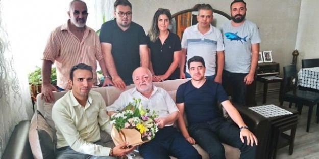 MGTC Yöneticilerinden Karaduman'a Ziyaret