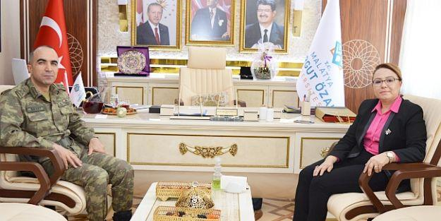 Tuğgeneral Sayat, Rektör Karabulut'u Ziyaret Etti