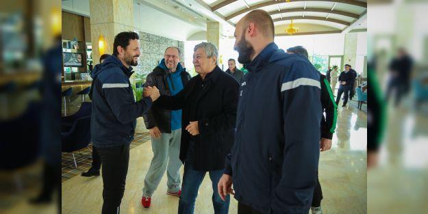 Lucescu'dan gecikmiş ziyaret