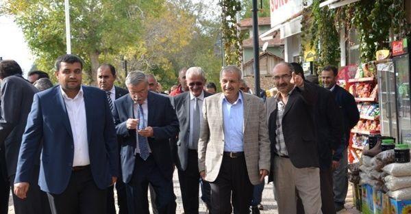 Ak Partili Şahin, Doğanşehir'i Ziyaret Etti