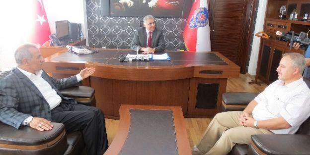 Milletvekili Şahin'den Emniyet Müdürü Urhal'a Ziyaret