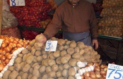 Patatesin Fiyat Ateşi Düşmedi